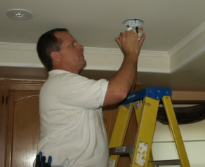oak park electrician recessed lighting installation